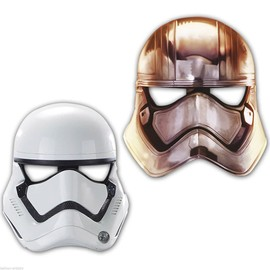 Masques Carton Star Wars Vii X6