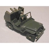 Jeep Lance-Missile Militaire Dinky Toys Derni�re S�rie