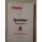 US Robotics sportster message plus modem fax manuel d'utilisation