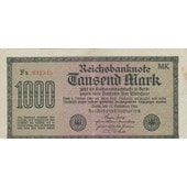 Reichsbanknote 1000 Mark 15-09-1922
