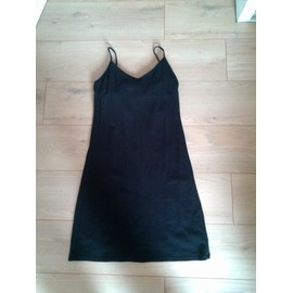 Robe V�ronique Delachaux Coton 38 Noir