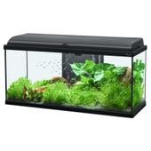 Aquarium Aquadream 80 Noir Led 90 Litres