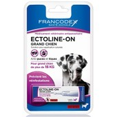 Ectoline-On Grand Chien (De 15 Kg � 30 Kg) 1 Pipette 8 Ml