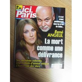 Ici Paris 3681 : Ren� & C�line, La Mort Comme Une D�livrance