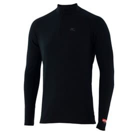 Mizuno Tee-Shirt Breath Thermo Mid Weight Solid 1/2 Zip