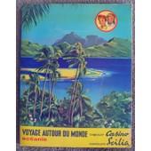 Album D'images Incomplet Chocolat Casino Et Scilia Oc�anie Voyages Autour Du Monde de J