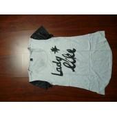 T-Shirt Miss Captain 38 Gris