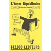 Buvard Du Journal Quotidien R�gional L'yonne Republicaine