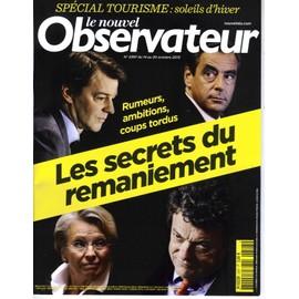 Le Nouvel Observateur N�2397 Remaniement Gouvernement/ Netanyahou/ Gang Barbares/ Villiers/ Series