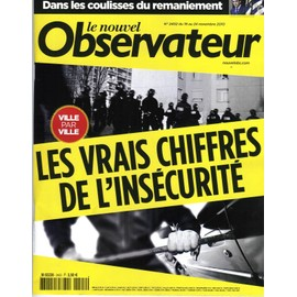Le Nouvel Observateur N�2402 Insecurite/ Neige/ General Motors/ Hulot-Allegre/ Cabu/ Mafia