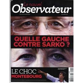 Le Nouvel Observateur N�2449 Gauche/ Etudes Sup/ Berlusconi/ Virilite/ Ecologie/ Hulot/ Legion D'hon