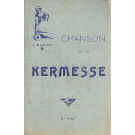 CHANBSON DE LA KERMESSE / 16 JUIN 1946 / SAINT NICOLAS