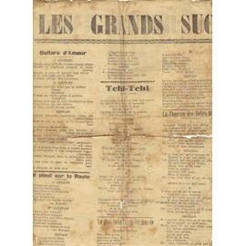 LES GRANDS SUCCES DE LA RADIO / 1