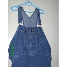 Salopette Dickies 8396 Bib Overalls Coton Fr 48 Us 38-39 Bleu