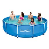 Piscine Tubulaire Metal Frame Pool - 3.66 X 0.91 M