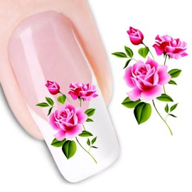 Stickers Water Decal Nail Art 1 Feuille Ref:Xf1369