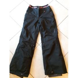 Pantalon Ski Wed'ze Polyamide 34 Noir