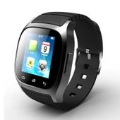 Cbp Puce Montre Bluetooth M26 Avec Affichage Led / Cadran / Sms Reminding / Music Player / Podom�tre Pour T�l�phone Portable Cadeaux(Noir)