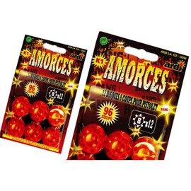 Plaque De 12 Amorces 8 Coups Pour Pistolet