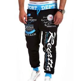 Homme Imprim� Pantalon Jogging Surv�tement Sportif