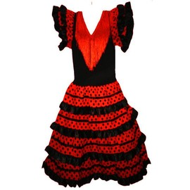 Robe Flamenco Pour Fille:Taille 8