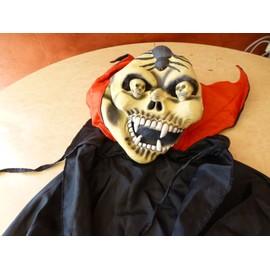 Masque Horreur Avec Cape