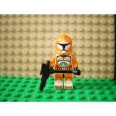 Lego Star Wars Clone Wars Figurine Sw299 : Bomb Squad Trooper Avec Arme