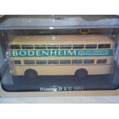 Bus B�ssing D 2 U 1951 Bus Collection 1/72 Atlas