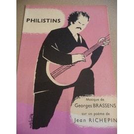 PHILISTINS Georges BRASSENS