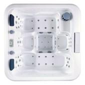 Spa Orma - 5 Places - Acrylique Blanc Marbr� - Habillage Gris