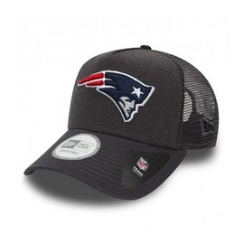 Casquette Trucker New Era New England Patriots Heather Team Gris