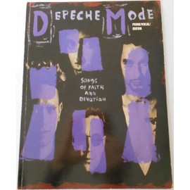 Depeche Mode Songs Of Faith And Devotion Piano/Vocal/Guitar