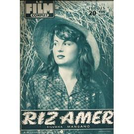 Le Film Complet N�533 / 1955 / Silvana Mangano, Riz Amer, Pier Angeli & Vic Damone