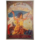 Affiche Alg�rie Exposition Coloniale 1906