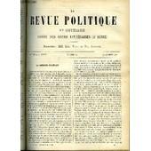 La Revue Politique Et Litteraire 3e Annee - 2e Semestre N�33 - Les Eventualites Politique Du Prochain Conclave Par Emile Gebhart, Les Methodes De L'enseignement Geographique Par E. ...