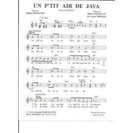 Un P'tit Air de Java (Java Chantée) + Santa Lucia (Java Mazurka)
