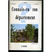 Connais-Tu Ton Departement - L'oise - Envoi De Lambert E. de LAMBERT E. - RIGAULT P. - BELLAN E.