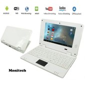 Tablette Netbook ordinateur portable Netbook Android 4 HDMI �cr.7.0 (Wifi-SD-MMC)