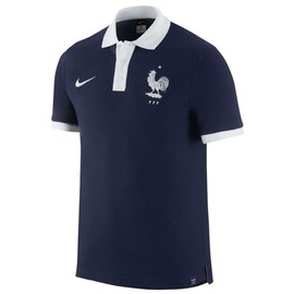 2016-2017 France Nike Core Polo Shirt (Navy)