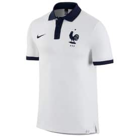 2016-2017 France Nike Core Polo Shirt (White)