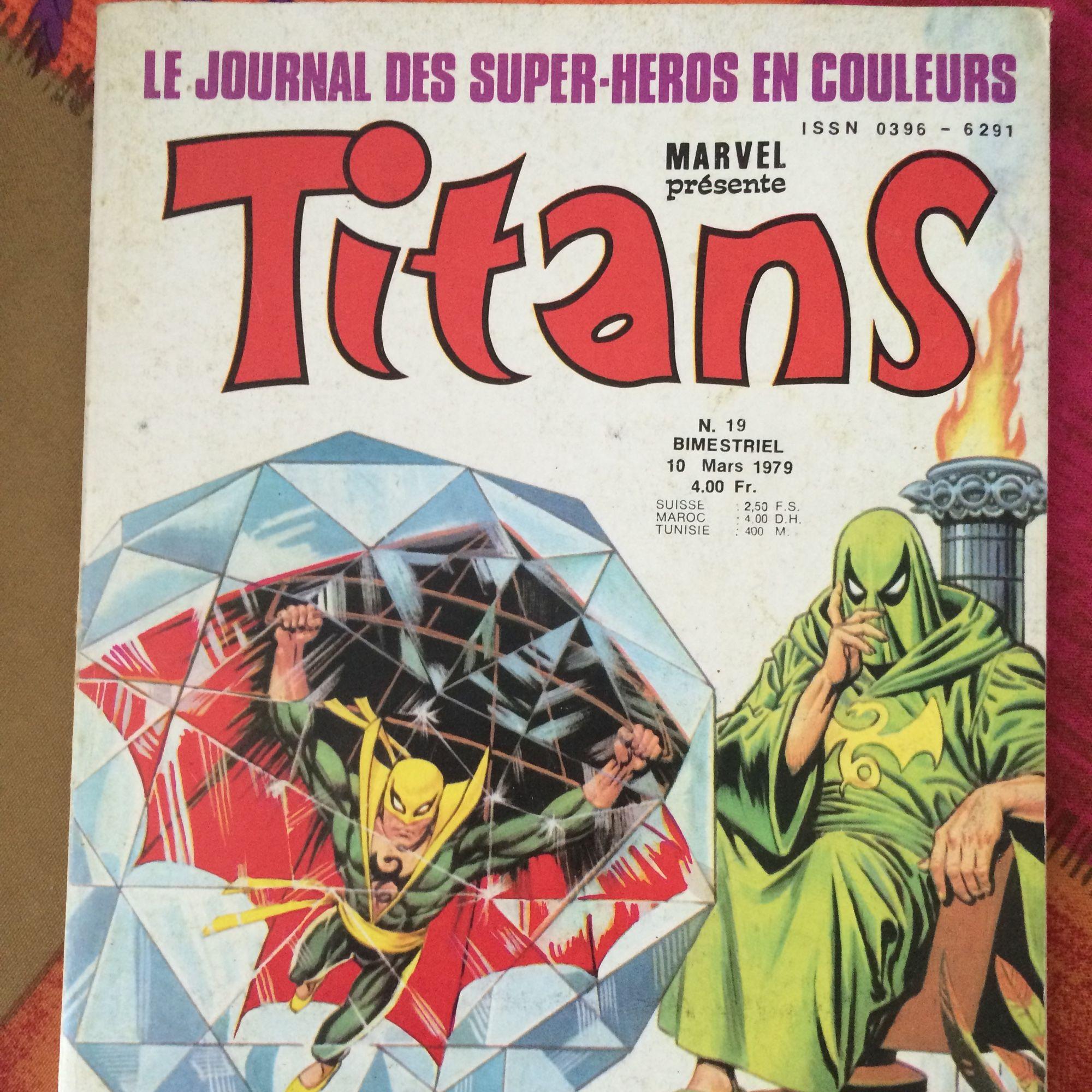 Titans 19 de Marvel