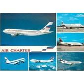 C.Postale : Avions - Air-Charter - Airbus A-300, Boeing B-747, Boeing B-727, Boeing B-737 (1994)