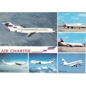 C.Postale : Avions - Air-Charter - Boeing B-727, B-737, B-747, Airbus A-300, Super 10 (1994)