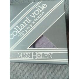 Collants Miss Helen 93 Polyamide T2 Gris Rose