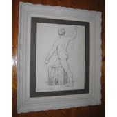 Gay Homme Nu Nude Male Dessin Drawing Etude Accademique