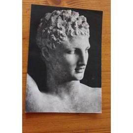 Hermes De Praxit�le - Photos Du Buste Publicit� Pharmaceutique Ancienne Pour Scillitrine - 2412