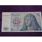 Billet 10 Deutsche Mark