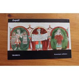 Planche Aout - Codex Guta-Sintram - Publicit� Pharmaceutique Ancienne Tri-Ergyl - Pas De Saign�e En Aout Reproduction - 2434