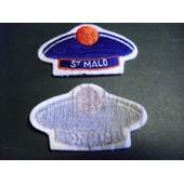Insigne Tissu Breloque De Foyer Saint Malo Bachi Marine