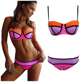 Maillot De Bain Bikini Push Up 2 Pi�ces